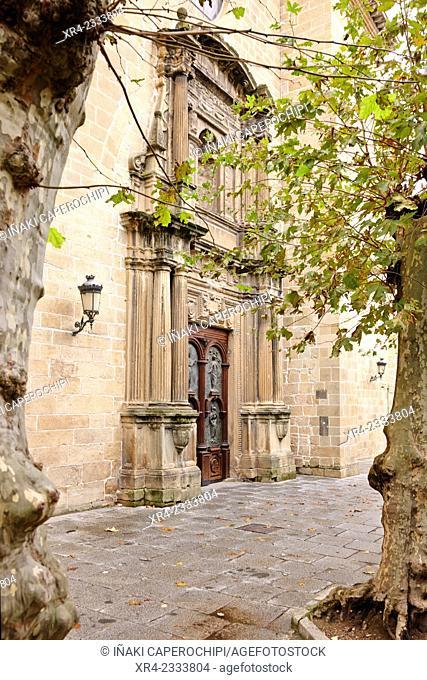 Iglesia de Nuestra Señora del Juncal, Irun, Gipuzkoa, Basque Country, Spain