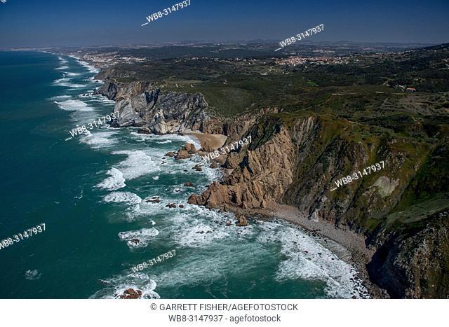 Cabo da Roca, Portugal - Aerial