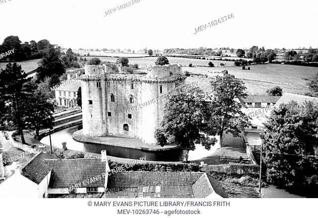 Nunney, the Castle c1960