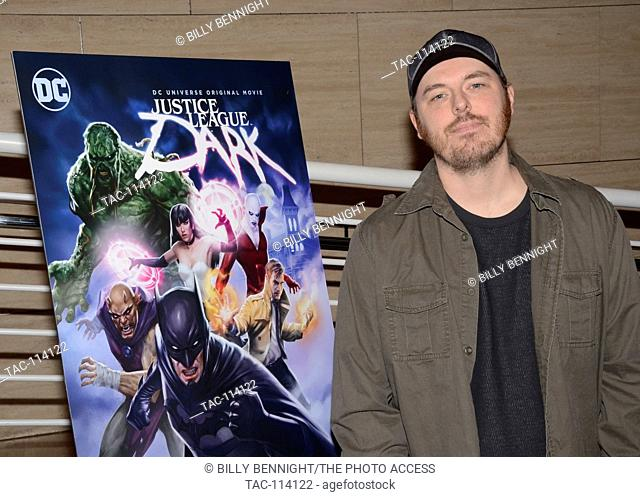 "Phil Bourassa attends premiere of Warner Home Movies' """"Justice League Dark"""" DC Universe Original Movies at The Paley Center for Media in Beverly Hills"