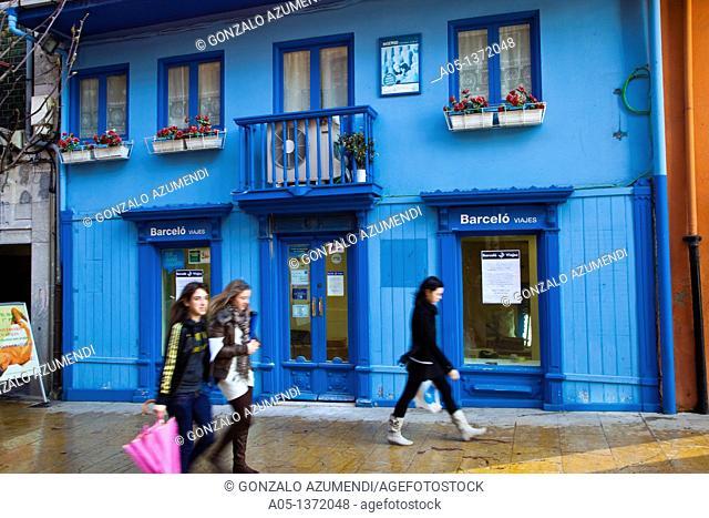 Camara Street Aviles  Asturias  Spain