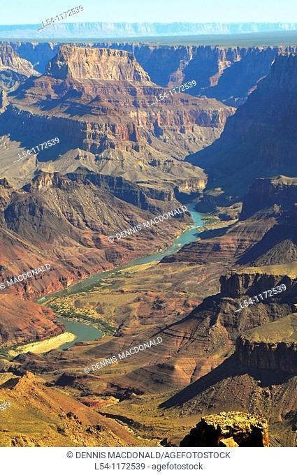 Desert View Watchtower Area Grand Canyon National Park Arizona