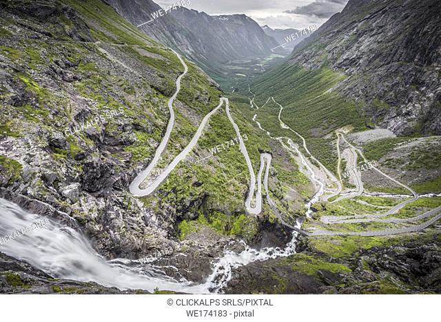 Trollstigen, More og Romsdal county, Norway