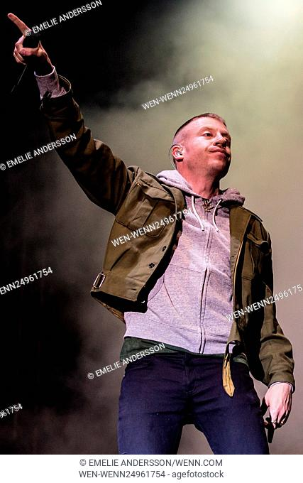 Bravalla Festival 2016 - Day 2 - Performances Featuring: Macklemore Where: Norrkoping, Sweden When: 01 Jul 2016 Credit: Emelie Andersson/WENN.com