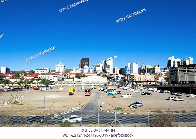 Windhoek namibia downtown Stock Photos and Images | age fotostock