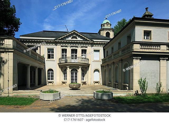 Germany, Dortmund, Ruhr area, Westphalia, North Rhine-Westphalia, NRW, Dortmund-Dorstfeld, house Schulte-Witten, manor house, library