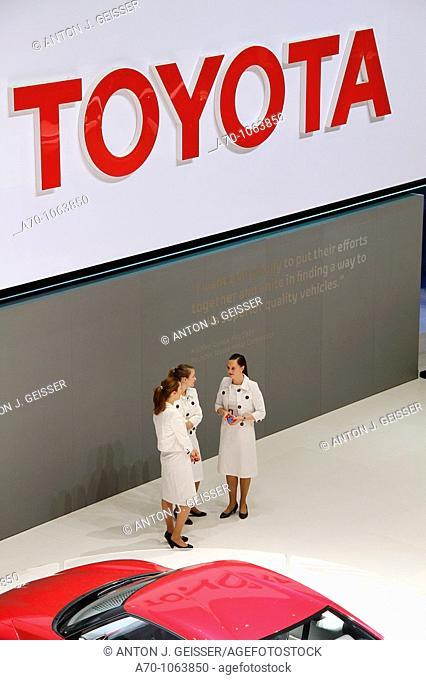 80 International motor show geneva Hostess Toyota