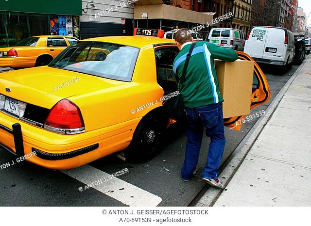 Taxi. New York City, USA