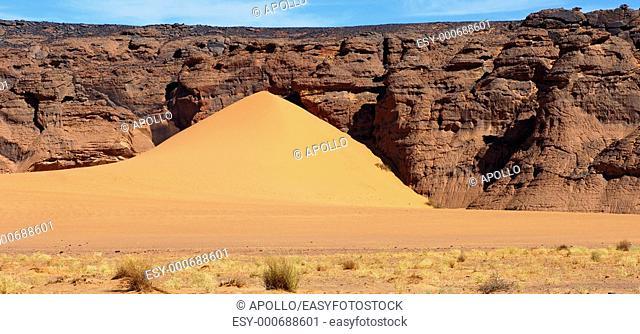 Sanddüne in the Sahara desert, Libya