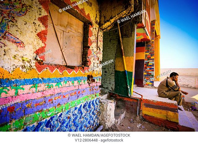 El-Burullos Symposium for Painting Walls and Boats, Kafr El-Sheikh governorate, Egypt