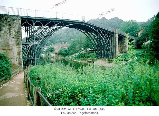 Ironbridge, a World Heritage site. Near Manchester. England. UK
