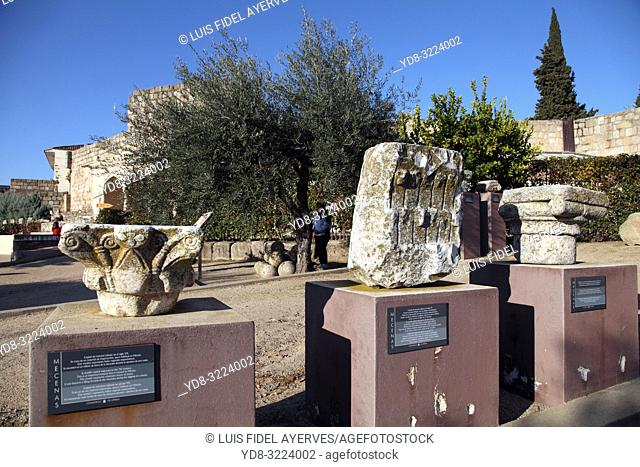 Alcazaba. Mérida. Badajoz province. Extremadura. Spain