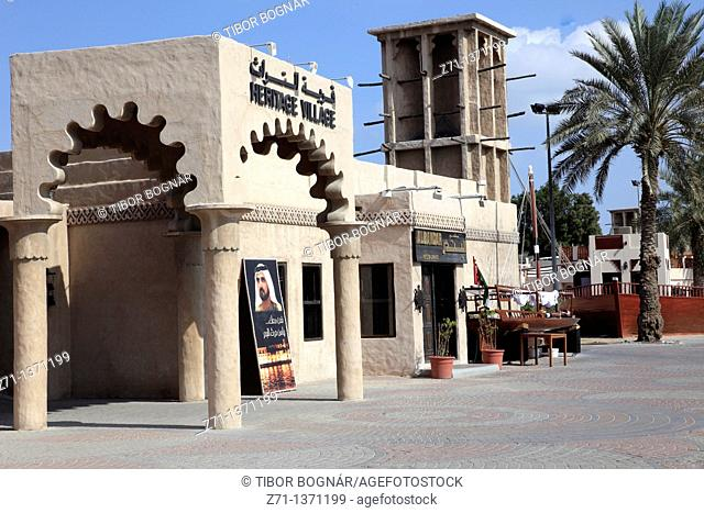 United Arab Emirates, Dubai, Shindagha area, Heritage Village