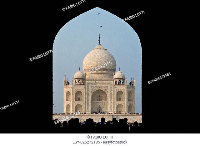 AGRA, INDIA - 23 OCTOBER 2013