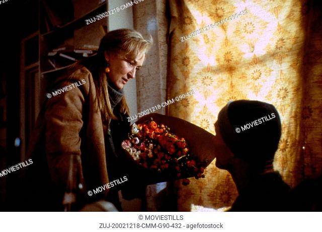 Dec 18, 2002; Hollywood, CA, USA; MERYL STREEP as Clarissa Vaughan and ED HARRIS as Richard Brown in the drama 'The Hours' directed by Stephen Daldry