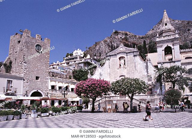 italy, sicilia, taormina
