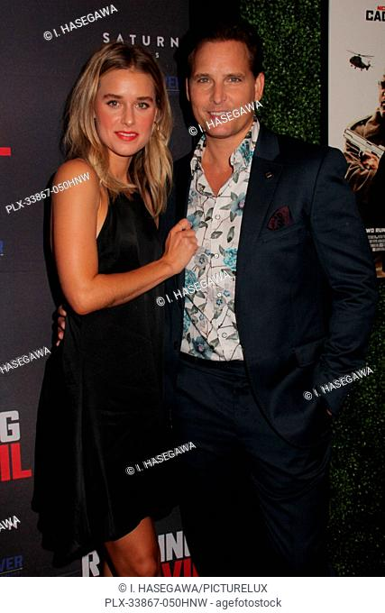 "Lily Anne Harrison, Peter Facinelli 09/16/2019 """"Running with the Devil"""" premiere held at Writers Guild Theater in Beverly Hills, CA Photo by I"