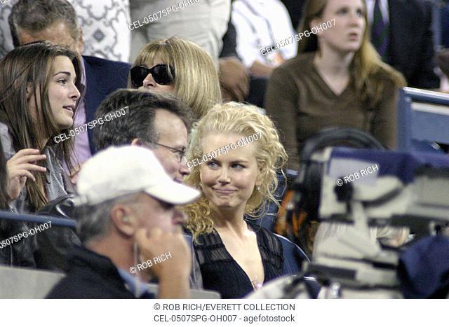 Nicole Kidman inside for U.S. Open Tennis Tournament, Arthur Ashe Stadium, Flushing, NY, September 07, 2005. Photo by: Rob Rich/Everett Collection