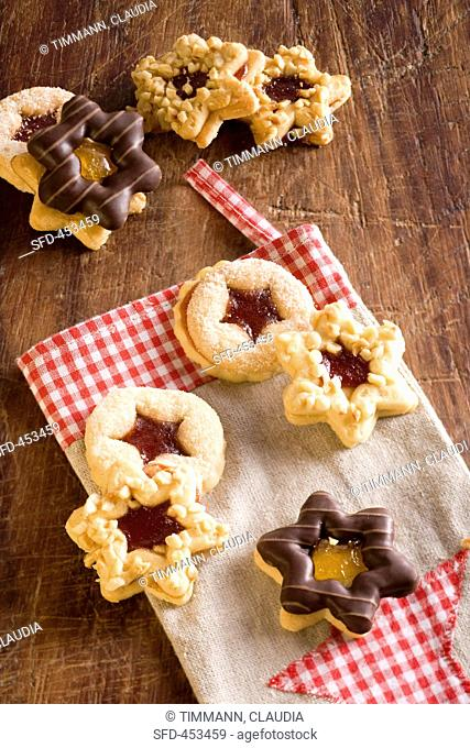 Various Types Of Christmas Biscuits Stock Photos And Images Age