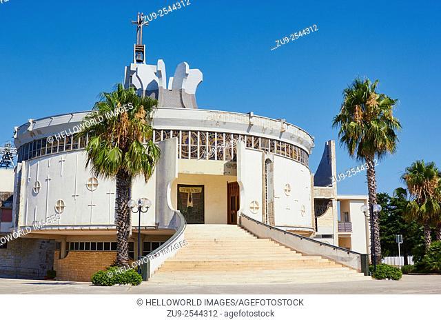 Santaurio della Madonna delle Grazie church, Corato, Puglia, Italy, Europe