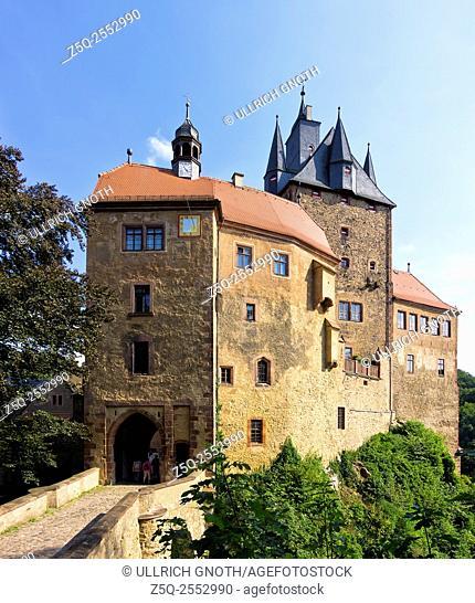 Medieval Kriebstein Castle, Saxony, Germany