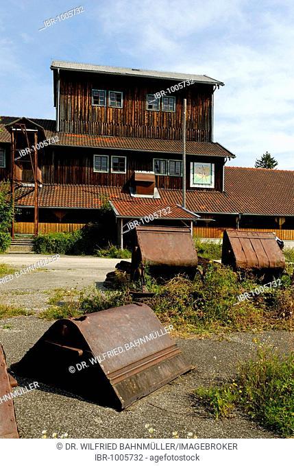 Former turf station, now a museum, Kendlmuehlfilze, Chiemgau, Upper Bavaria, Germany, Europe