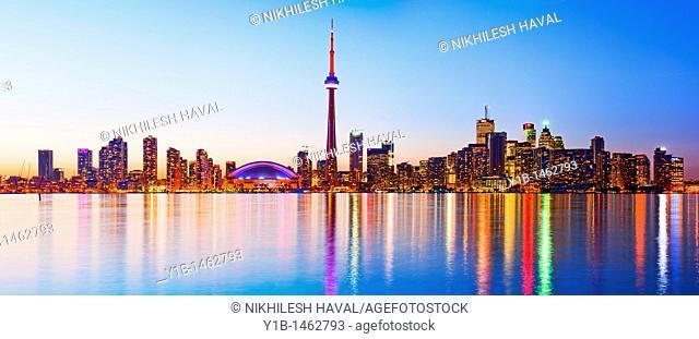Toronto harbour front, Ontario