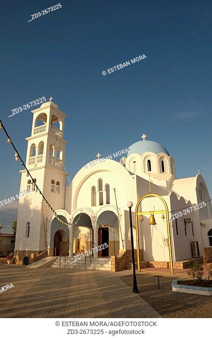 Church in Skala, Agistri, Greece