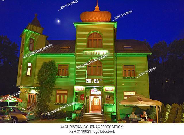 Stefania hotel, Krynica-Zdroj, the biggest spa town in Poland, Malopolska Province (Lesser Poland), Poland, Central Europe