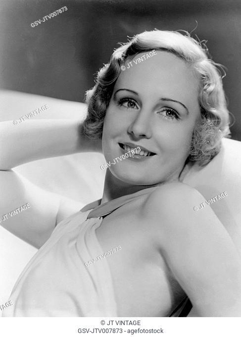 Madge Evans, Publicity Portrait, Metro Goldwyn Mayer, circa 1930's
