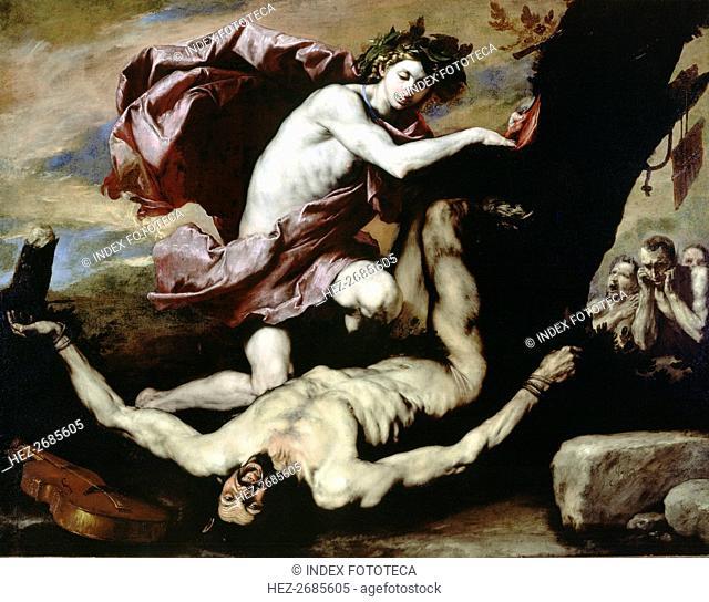 Apollo and Marsyas' by José de Ribera