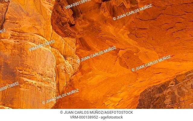 Natural Arch in Al Harazah, Wadi Rum