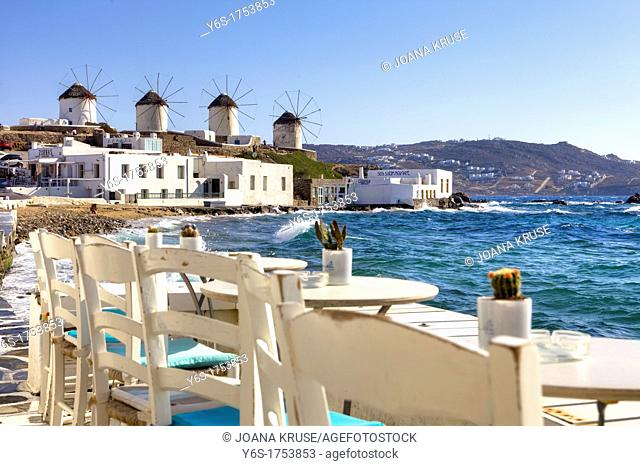 Kato Myli, lower mill mountain, Mykonos, Greece