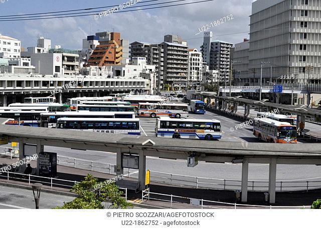 Naha Okinawa, Japan, Naha bus terminal