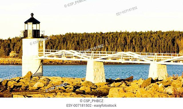 Marshall Point Lighthouse, Maine, USA
