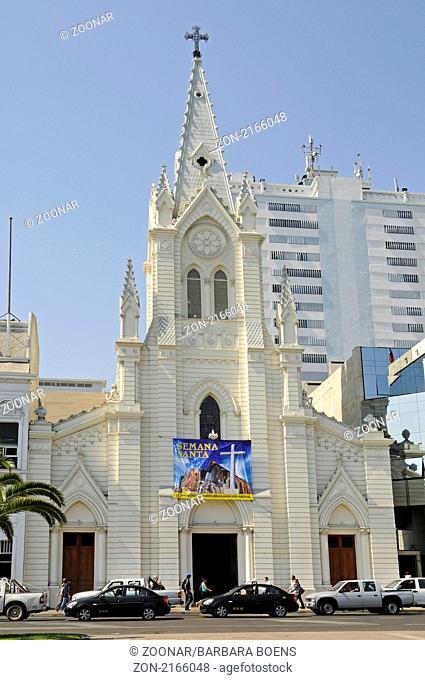Cathedral, Kathedrale, Antofagasta, Norte Grande, northern Chile, Nordchile, Chile, South America, Suedamerika