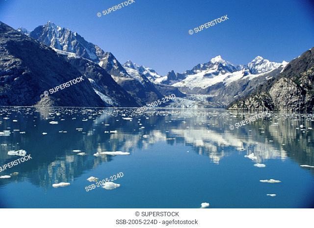 Johns Hopkins Inlet Glacier Bay National Park and Preserve Alaska USA