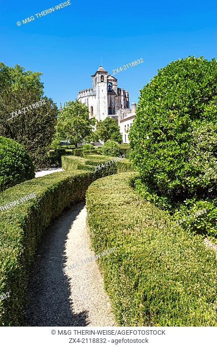 Convent of the Order of Christ, Tomar, Estremadura, Ribatejo, Portugal, Unesco World Heritage Site