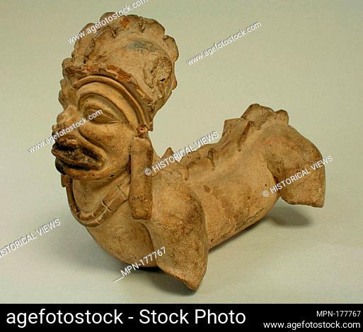 Zoomorphic Stone Figure. Date: 5th century B.C.-A.D. 13th century; Geography: Ecuador; Culture: Ecuador; Medium: Ceramic, pigment; Dimensions: H