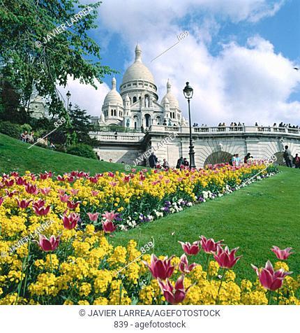 Sacre Coeur. Paris. France