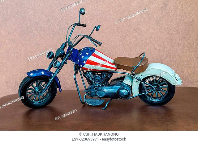 Small toy motorcycle