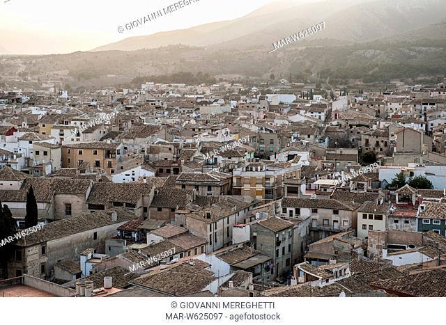 Spain, Murcia region, Caravaca de la Cruz, landcsape