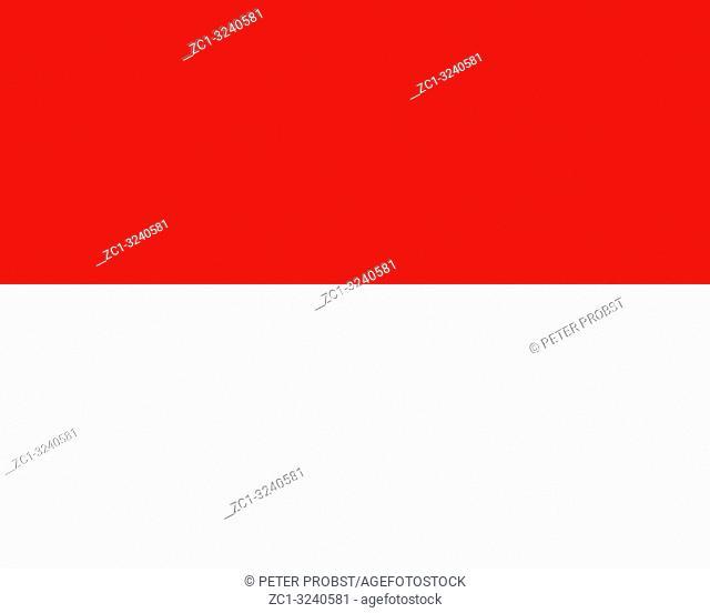 National flag of the Principality of Monaco