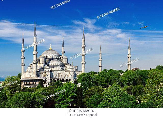 Turkey, Istanbul, Blue Mosque