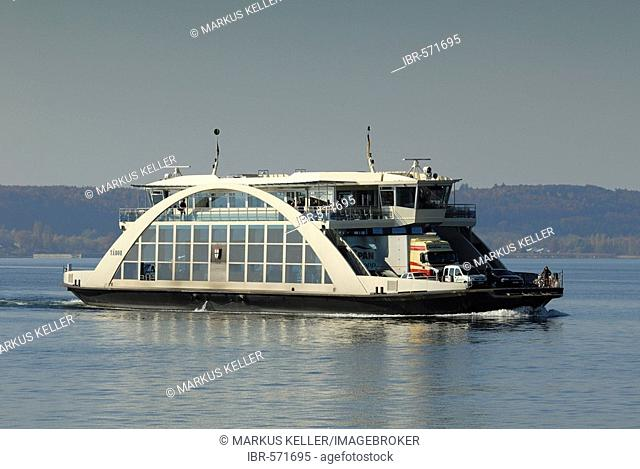 Ferry ship MF Tábor - Baden Wuerttemberg, Germany Europe