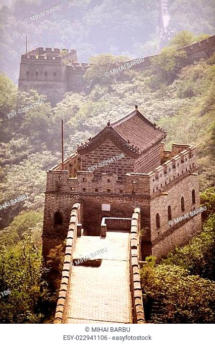 Watch tower from the Great Wall of China