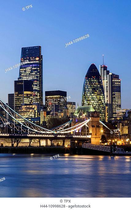 England, London, City Skyline
