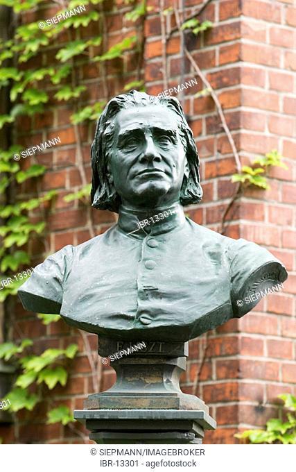 Bust Franz Liszt - Bayreuth - Franconia - Germany