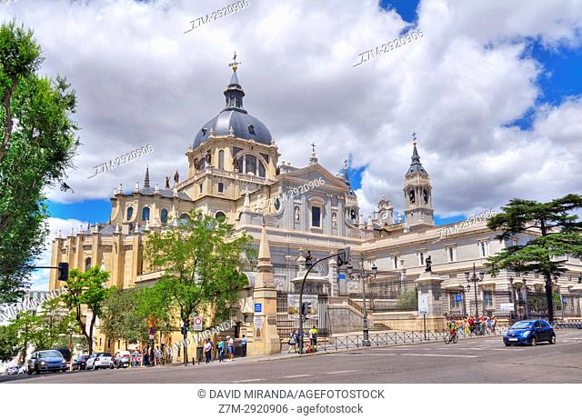 Almudena Cathedral. Madrid. Spain