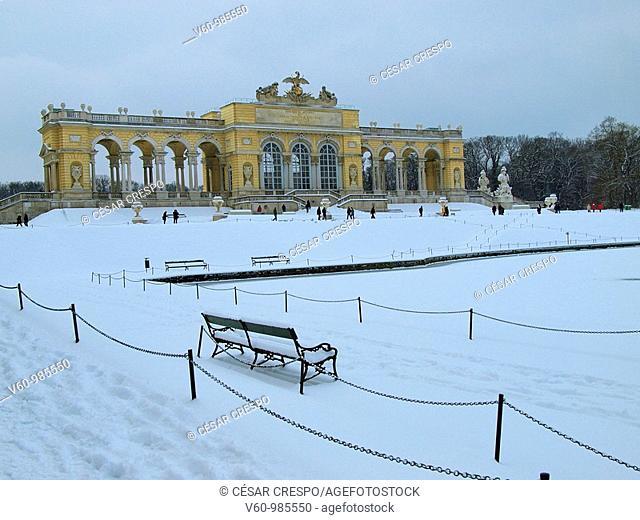 -Shonbrunn Park in Winter- Wien(Austria)